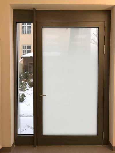 Sichtschutzfolie Glasdekorfolie mit Verlauf von 3M Gasara für